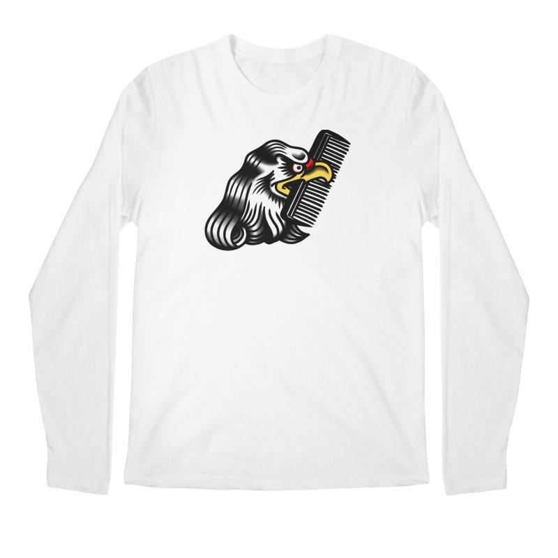 Boldly not bald Men's Longsleeve T-Shirt by biernatt's Artist Shop