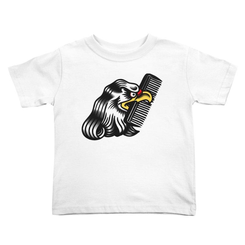 Boldly not bald Kids Toddler T-Shirt by biernatt's Artist Shop