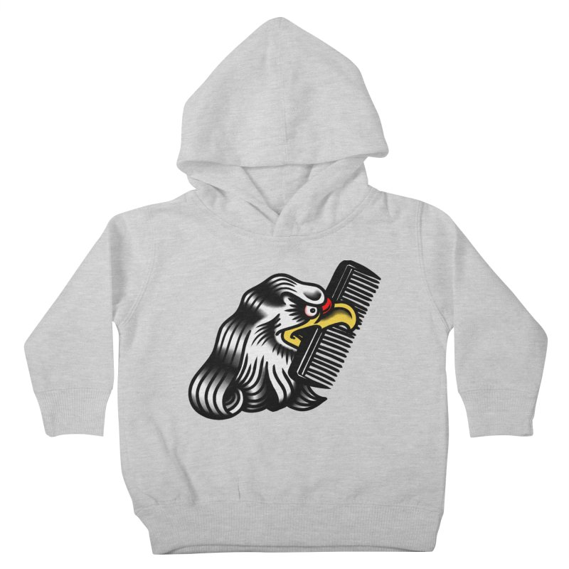 Boldly not bald Kids Toddler Pullover Hoody by biernatt's Artist Shop