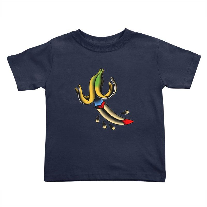 Banaknife Kids Toddler T-Shirt by biernatt's Artist Shop