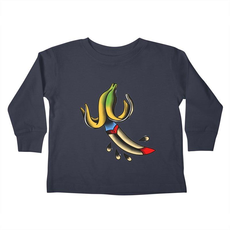 Banaknife Kids Toddler Longsleeve T-Shirt by biernatt's Artist Shop