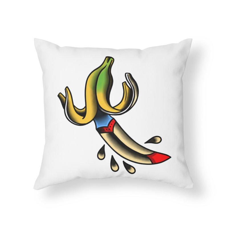 Banaknife Home Throw Pillow by biernatt's Artist Shop