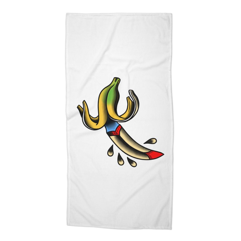 Banaknife Accessories Beach Towel by biernatt's Artist Shop
