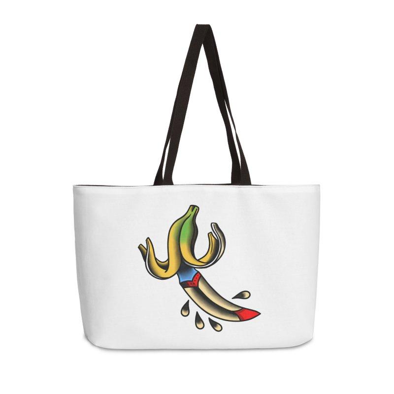Banaknife Accessories Weekender Bag Bag by biernatt's Artist Shop