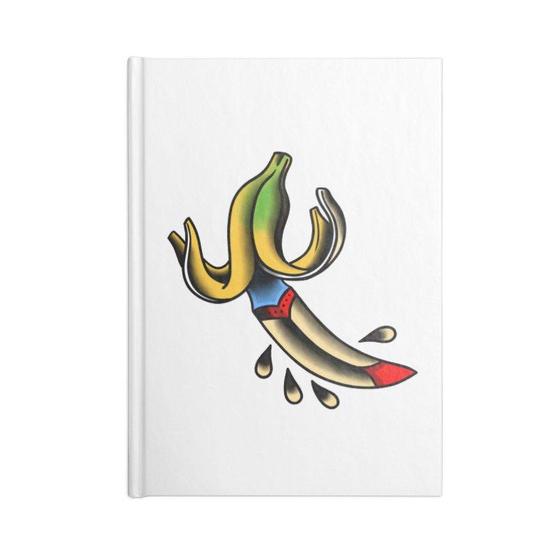Banaknife Accessories Lined Journal Notebook by biernatt's Artist Shop