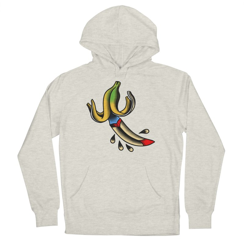 Banaknife Men's French Terry Pullover Hoody by biernatt's Artist Shop