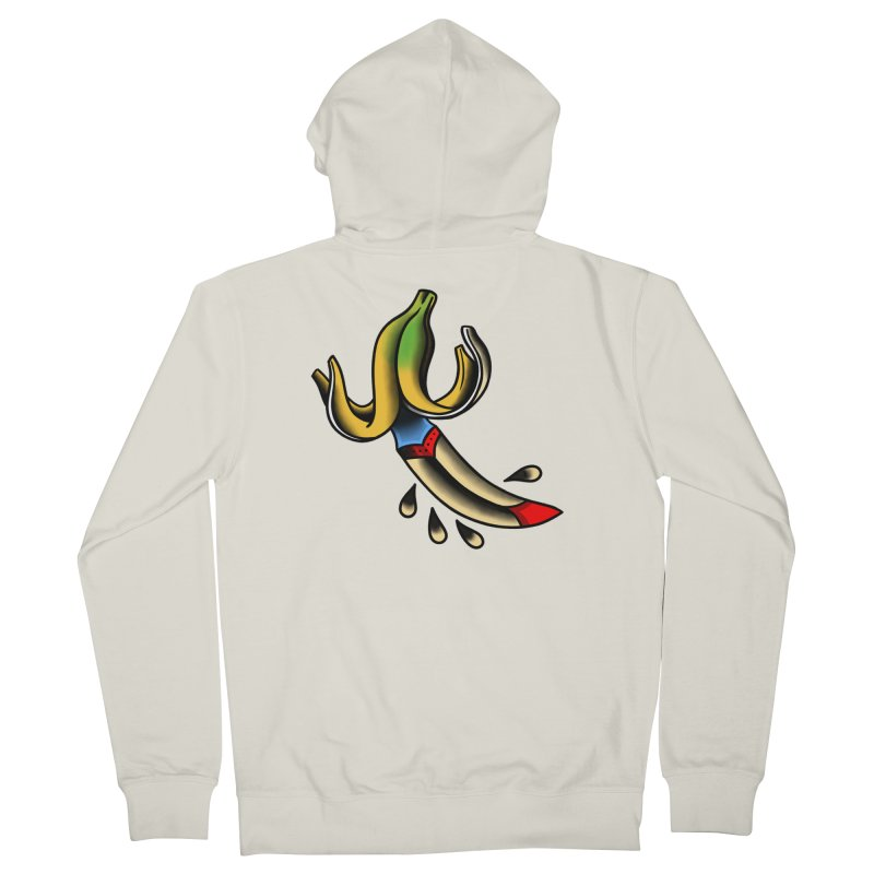 Banaknife Women's French Terry Zip-Up Hoody by biernatt's Artist Shop