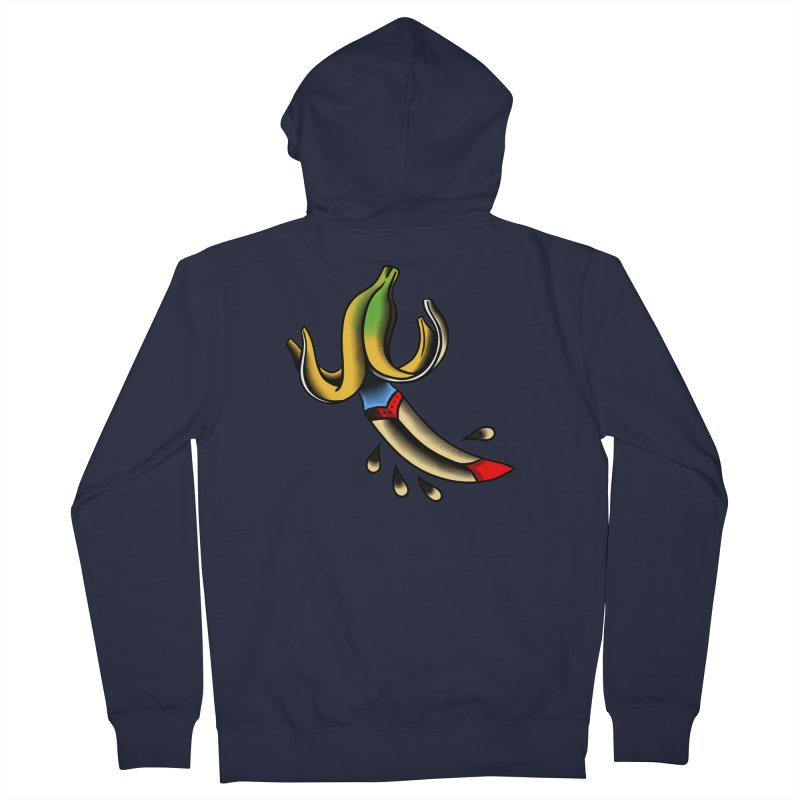 Banaknife Men's Zip-Up Hoody by biernatt's Artist Shop