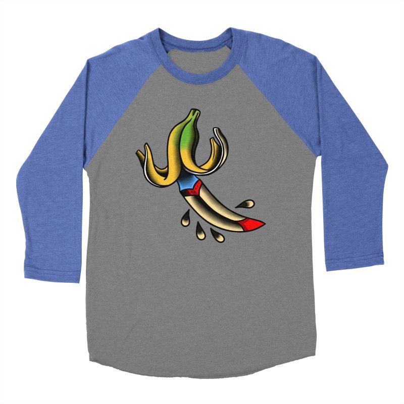 Banaknife Men's Baseball Triblend Longsleeve T-Shirt by biernatt's Artist Shop