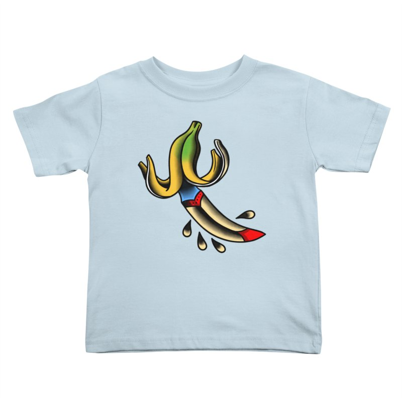 Banaknife Kids Toddler T-Shirt by biernatt's Artist Shop