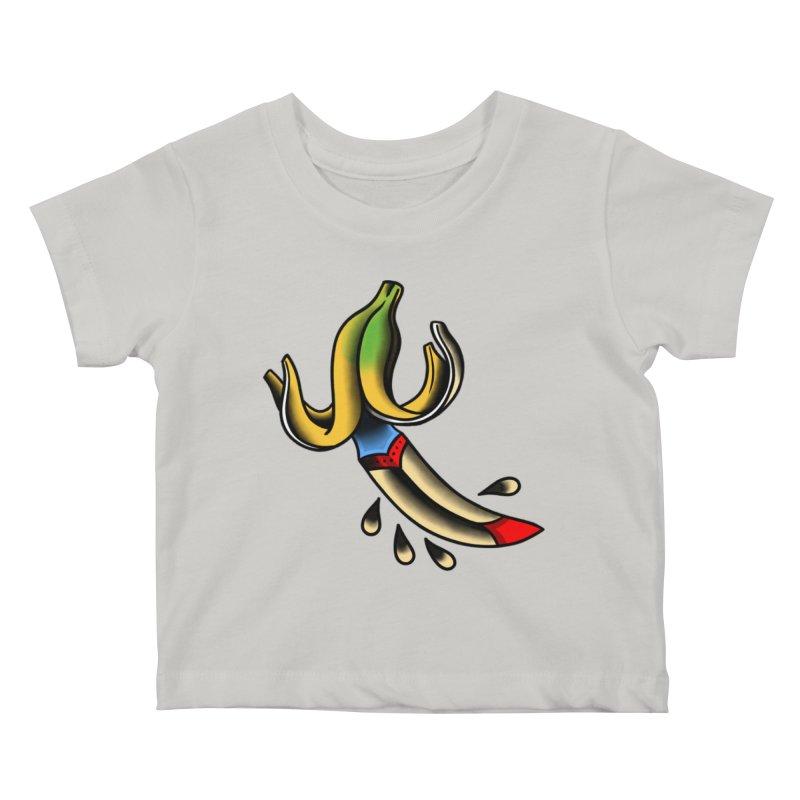 Banaknife Kids Baby T-Shirt by biernatt's Artist Shop