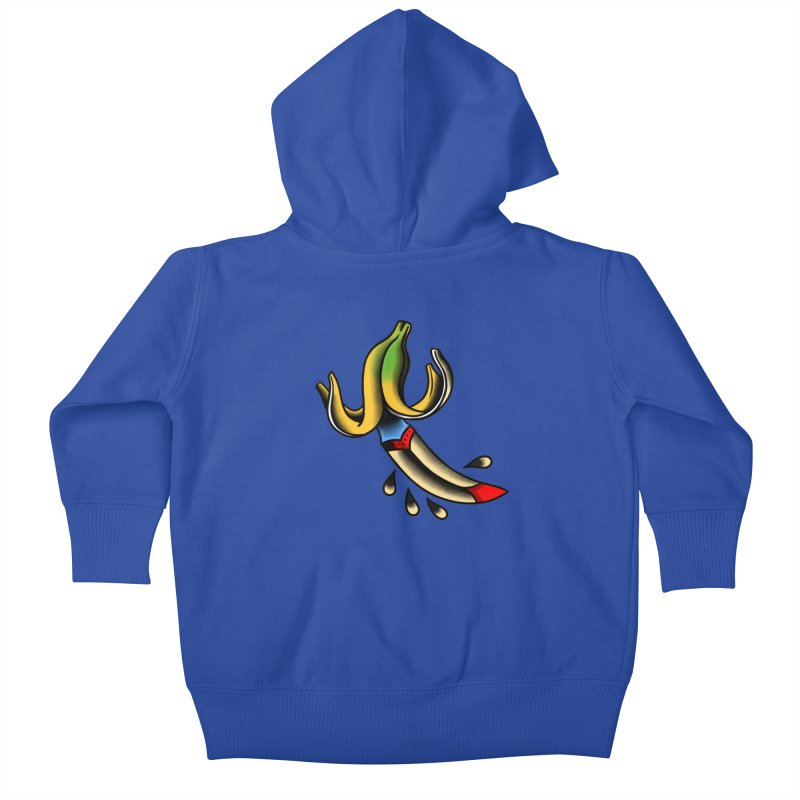 Banaknife Kids Baby Zip-Up Hoody by biernatt's Artist Shop
