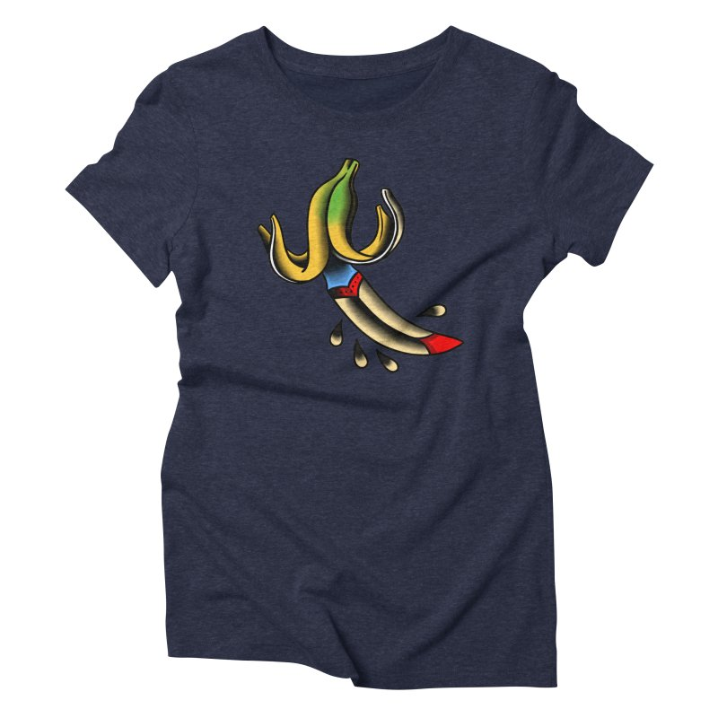 Banaknife Women's Triblend T-Shirt by biernatt's Artist Shop