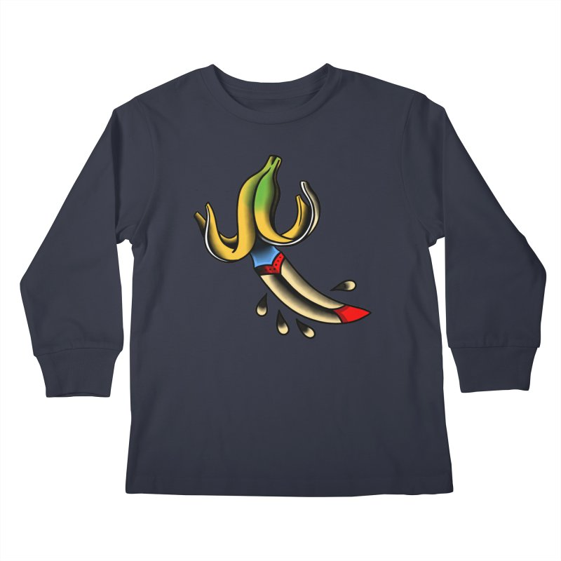 Banaknife Kids Longsleeve T-Shirt by biernatt's Artist Shop
