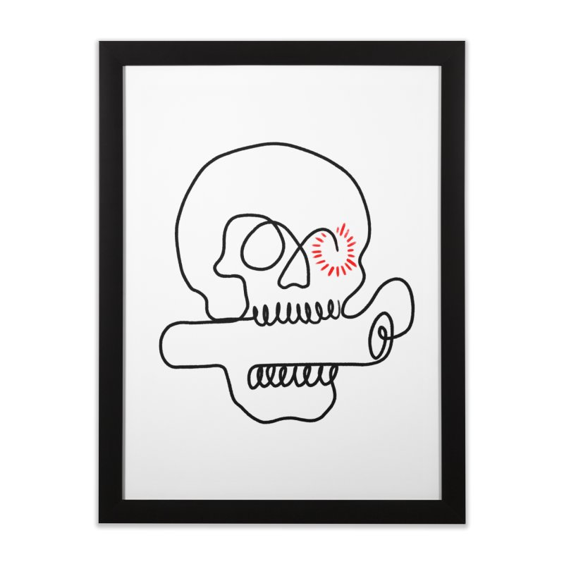 Boom! Home Framed Fine Art Print by biernatt's Artist Shop