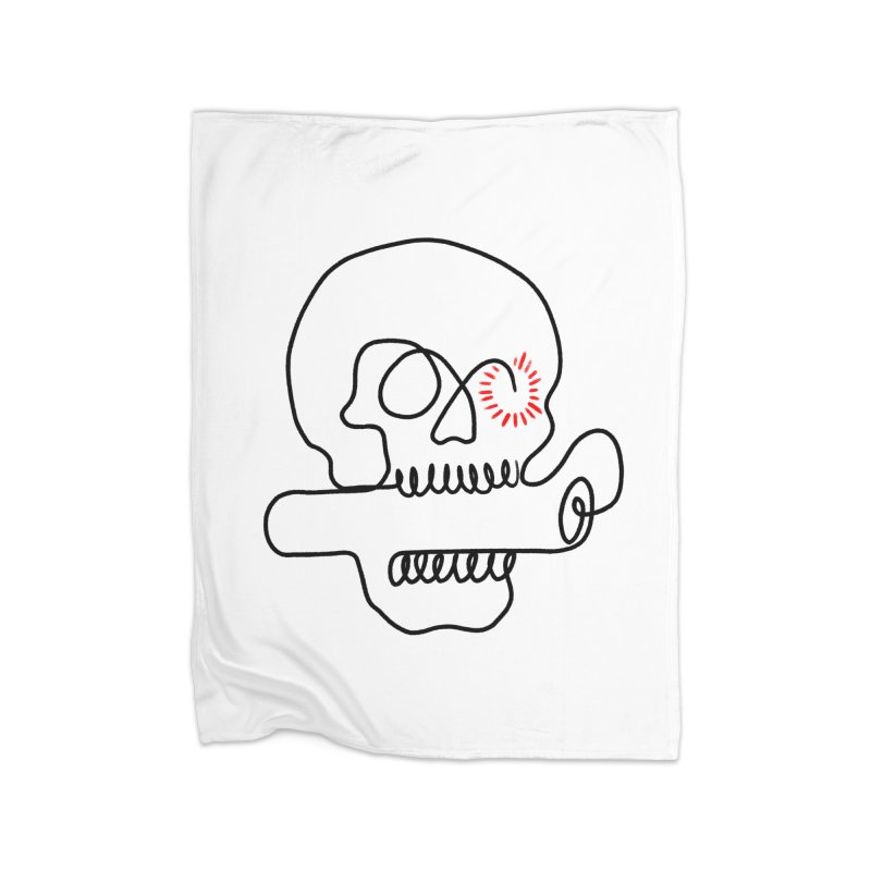 Boom! Home Blanket by biernatt's Artist Shop