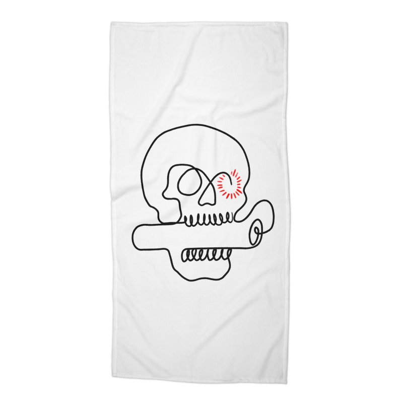 Boom! Accessories Beach Towel by biernatt's Artist Shop