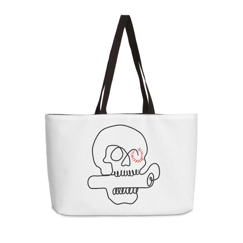 Boom! Accessories Weekender Bag Bag by biernatt's Artist Shop