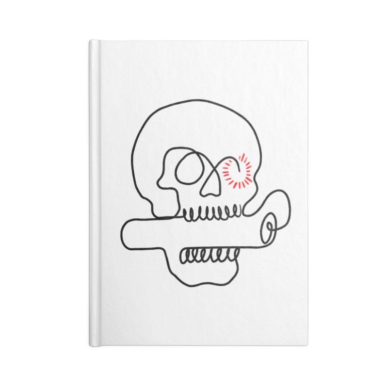 Boom! Accessories Lined Journal Notebook by biernatt's Artist Shop
