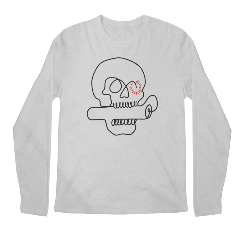 Boom! Men's Regular Longsleeve T-Shirt by biernatt's Artist Shop