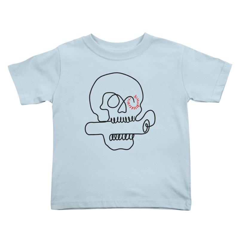 Boom! Kids Toddler T-Shirt by biernatt's Artist Shop