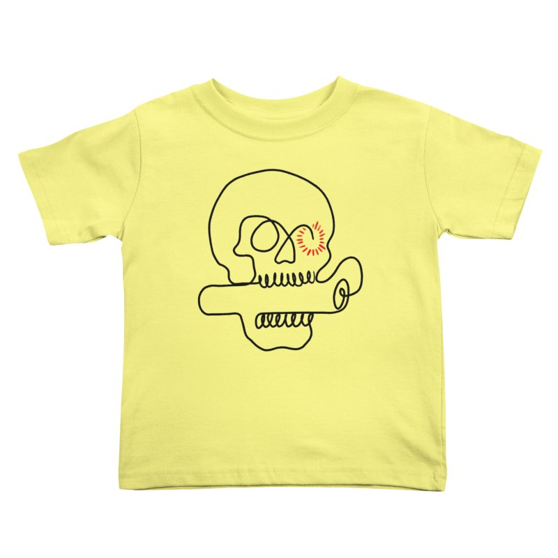 Boom! Kids Toddler T-Shirt by biernatt's Artist Shop