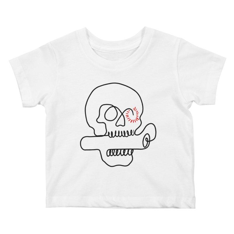 Boom! Kids Baby T-Shirt by biernatt's Artist Shop