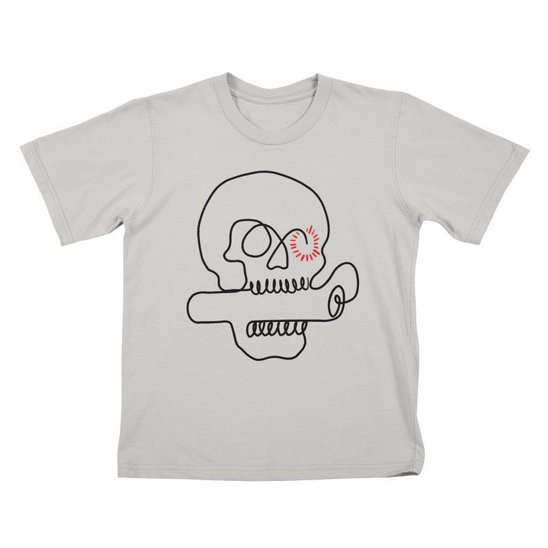 Boom! Kids T-Shirt by biernatt's Artist Shop