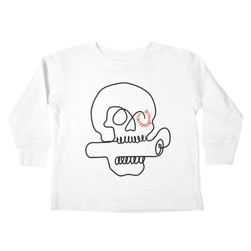 Boom! Kids Toddler Longsleeve T-Shirt by biernatt's Artist Shop