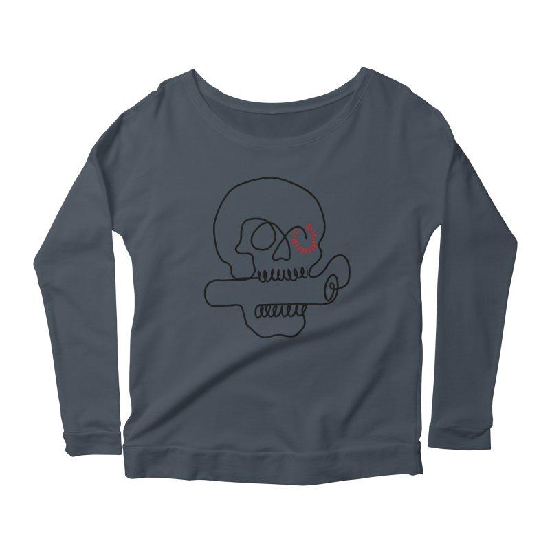 Boom! Women's Scoop Neck Longsleeve T-Shirt by biernatt's Artist Shop