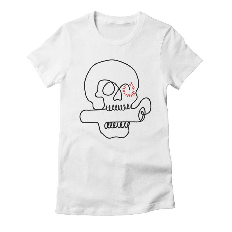 Boom! Women's Fitted T-Shirt by biernatt's Artist Shop