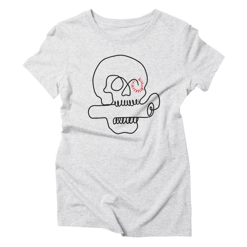 Boom! Women's Triblend T-Shirt by biernatt's Artist Shop