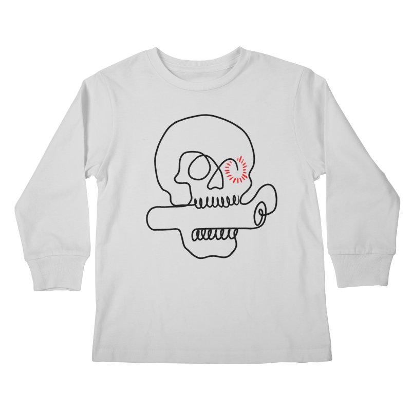 Boom! Kids Longsleeve T-Shirt by biernatt's Artist Shop