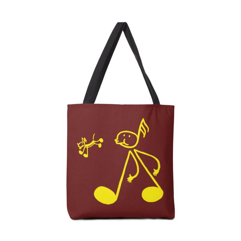 Whistle walker Accessories Bag by biernatt's Artist Shop