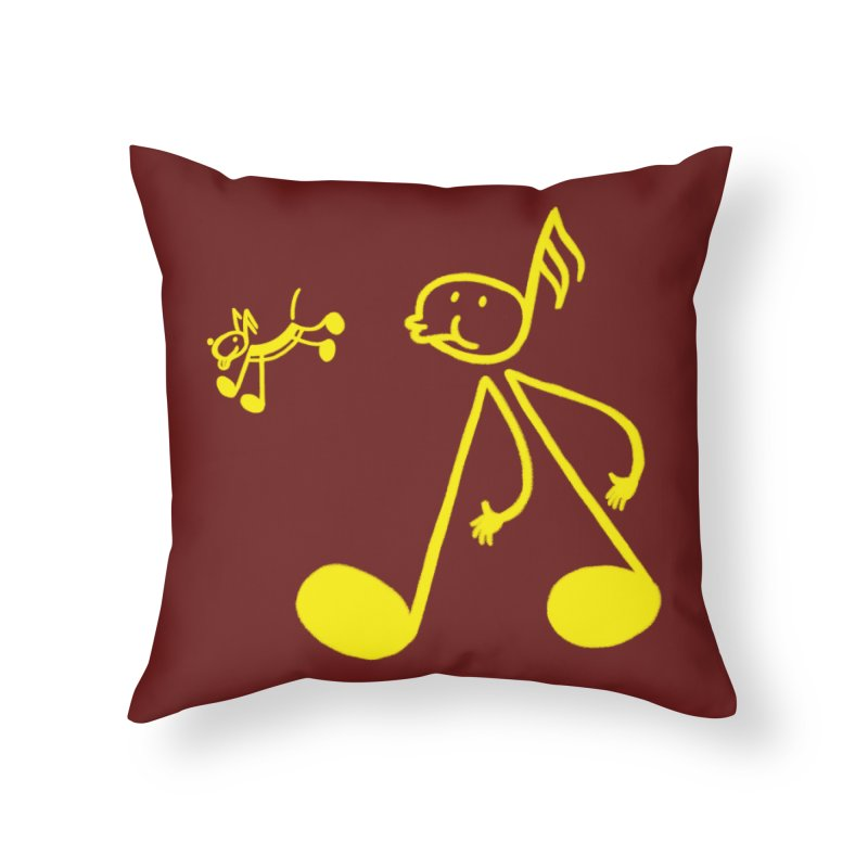 Whistle walker Home Throw Pillow by biernatt's Artist Shop