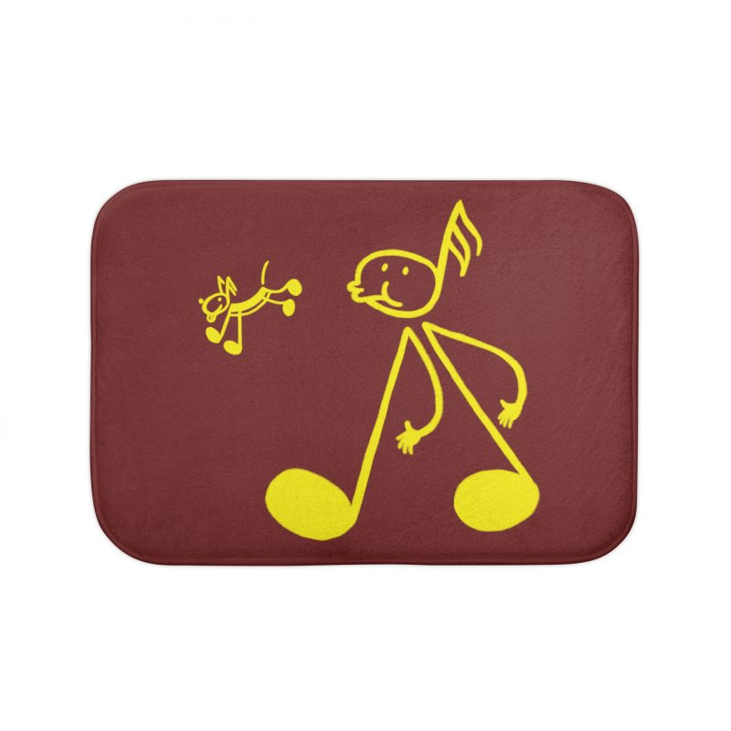 Whistle walker Home Bath Mat by biernatt's Artist Shop