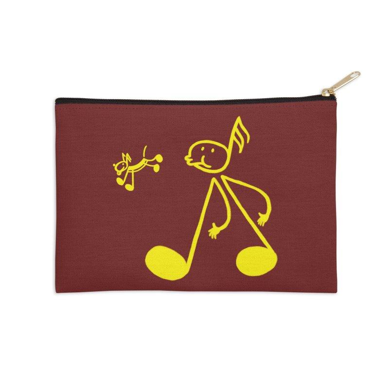 Whistle walker Accessories Zip Pouch by biernatt's Artist Shop