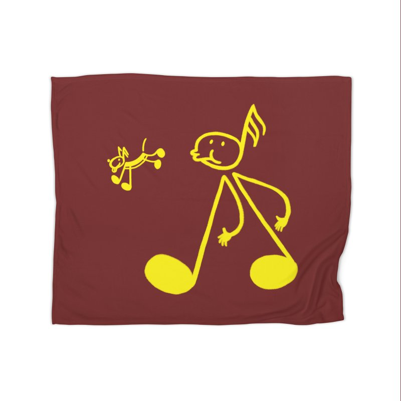 Whistle walker Home Fleece Blanket Blanket by biernatt's Artist Shop