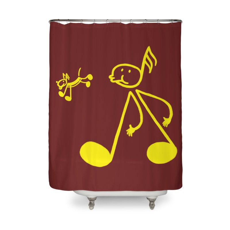 Whistle walker Home Shower Curtain by biernatt's Artist Shop