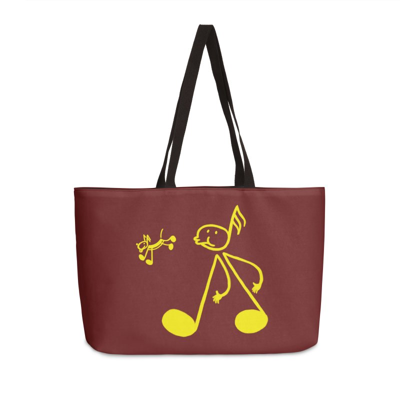 Whistle walker Accessories Weekender Bag Bag by biernatt's Artist Shop