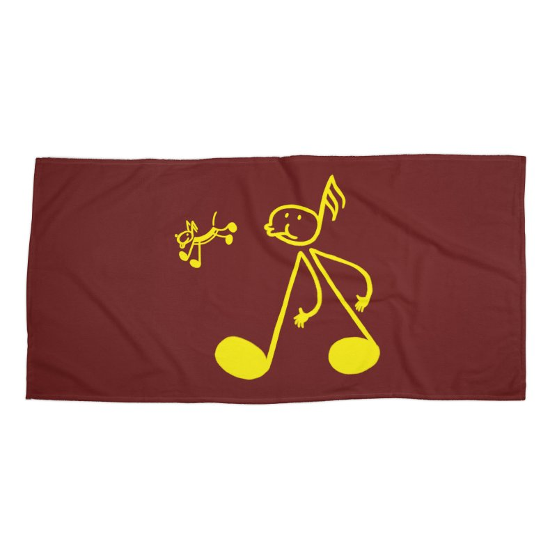 Whistle walker Accessories Beach Towel by biernatt's Artist Shop