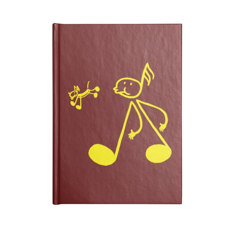 Whistle walker Accessories Notebook by biernatt's Artist Shop