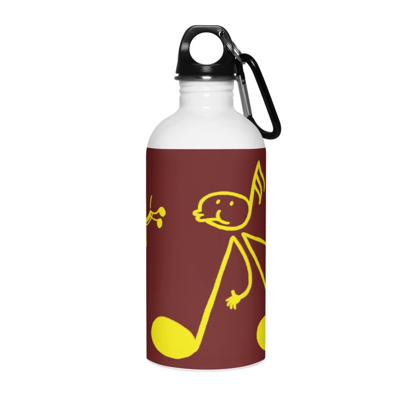 Whistle walker Accessories Water Bottle by biernatt's Artist Shop