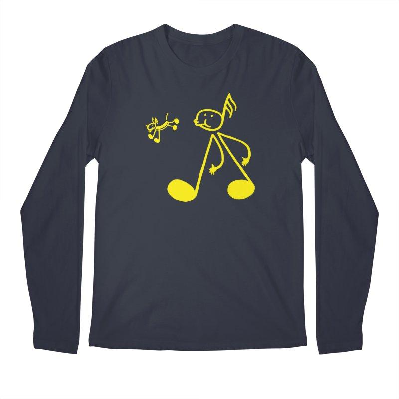 Whistle walker Men's Regular Longsleeve T-Shirt by biernatt's Artist Shop