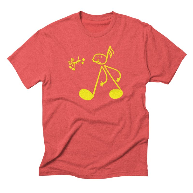Whistle walker Men's Triblend T-Shirt by biernatt's Artist Shop