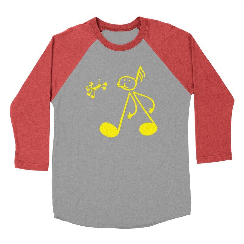 Whistle walker Men's Baseball Triblend T-Shirt by biernatt's Artist Shop