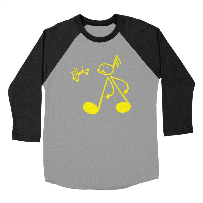 Whistle walker Men's Baseball Triblend Longsleeve T-Shirt by biernatt's Artist Shop
