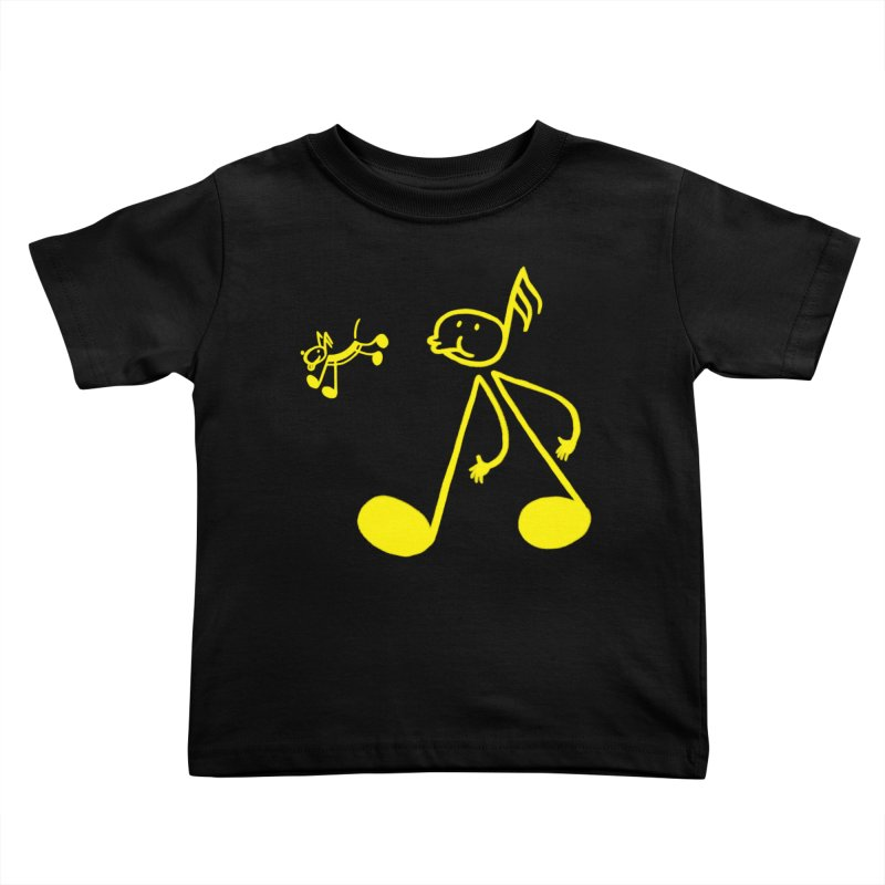 Whistle walker Kids Toddler T-Shirt by biernatt's Artist Shop