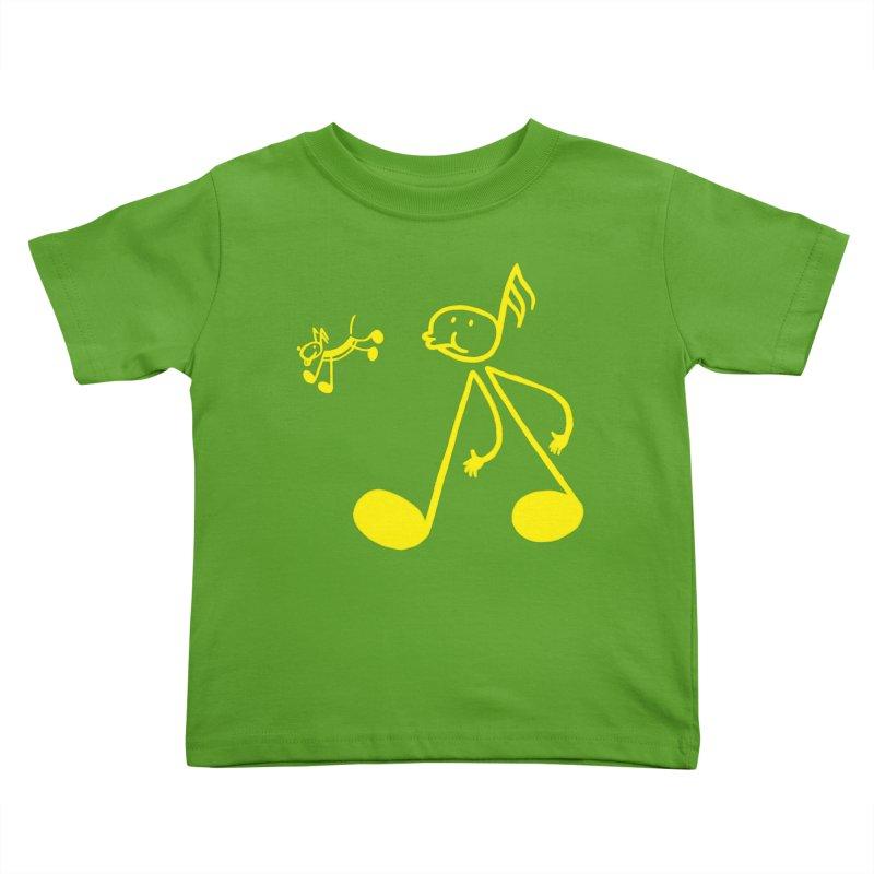 Whistle walker Kids Toddler T-Shirt by biernatt's Artist Shop