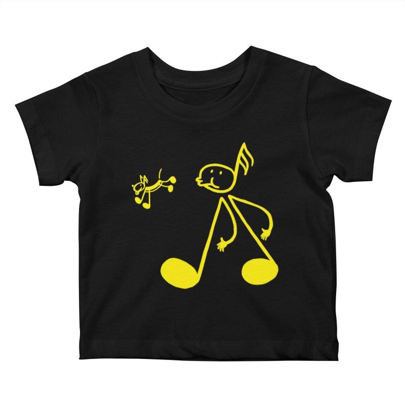 Whistle walker Kids Baby T-Shirt by biernatt's Artist Shop